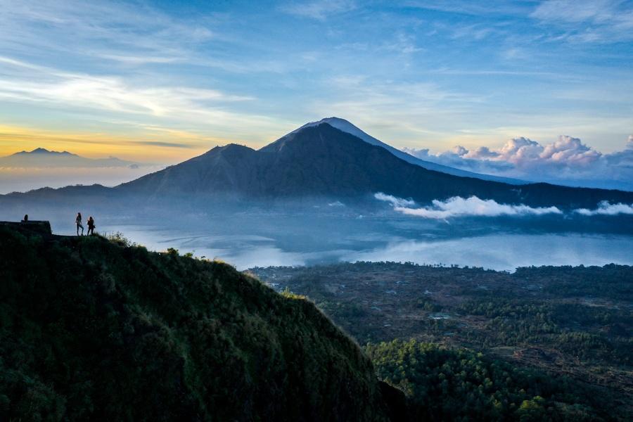 Gunung Abang view