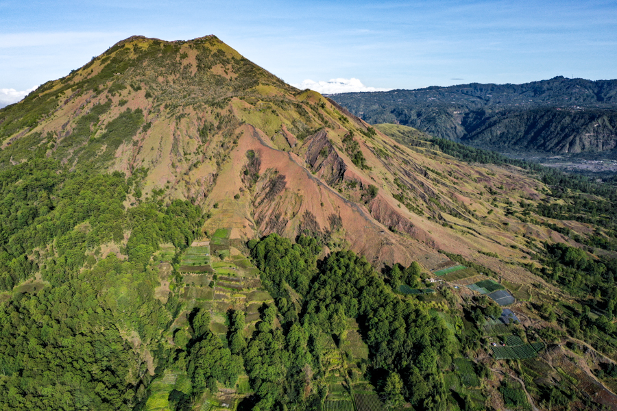 Slopes of Mt Batur