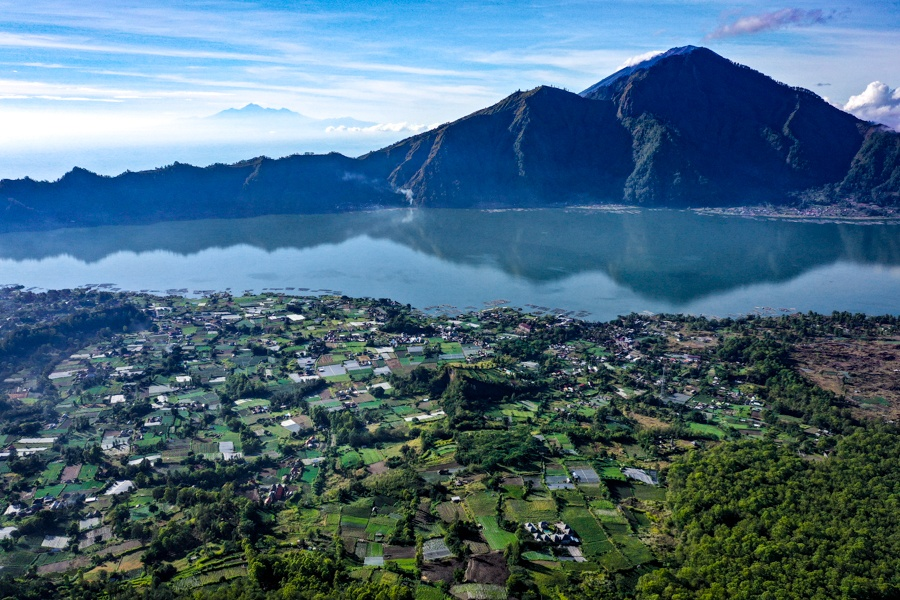 Kintamani and Lake Batur