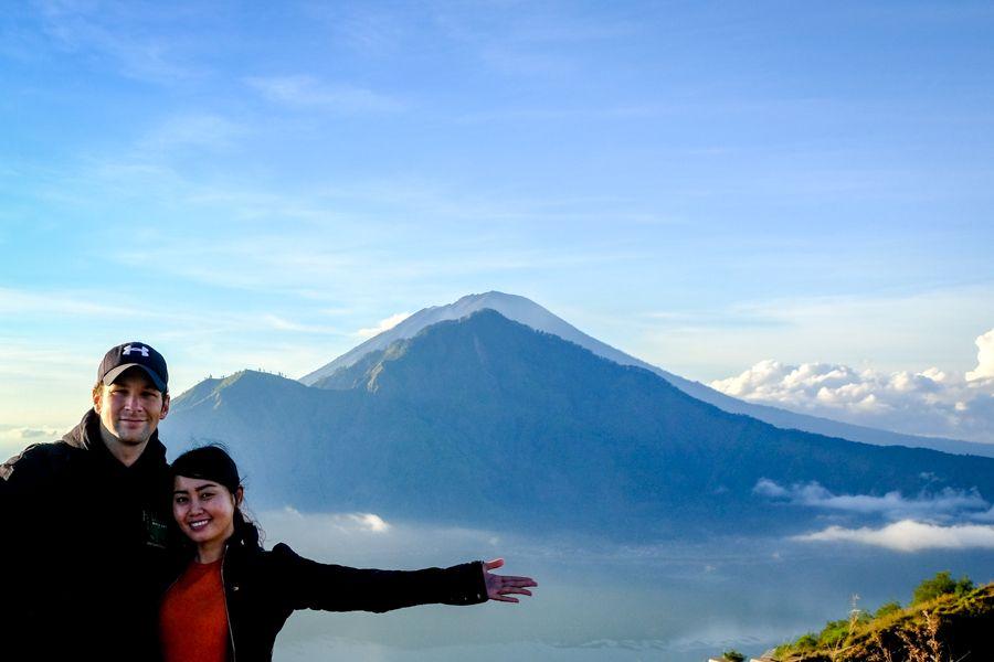 Mount Batur trekkers