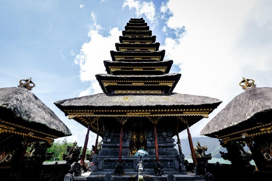 Pura Segara Ulun Danu Batur Lake Temple Pura Jati In Kintamani Bali