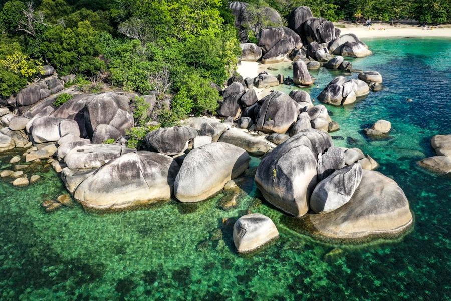 Tanjung Tinggi drone picture