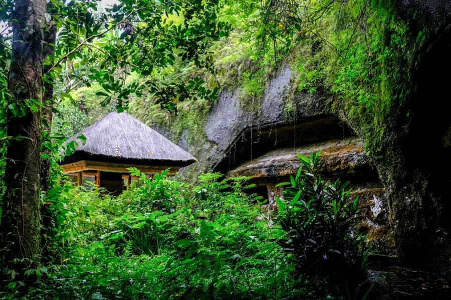 Hidden jungle temples in Bali