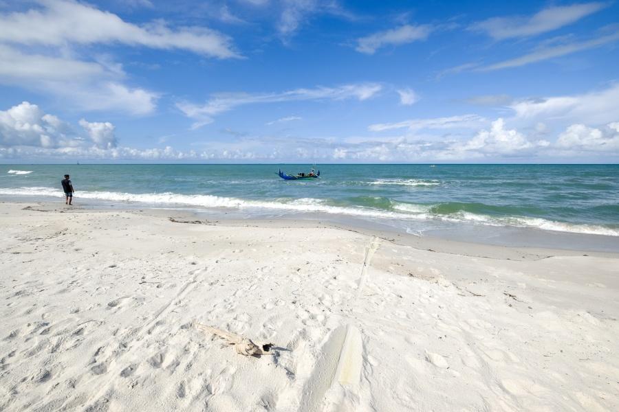 Pantai Serdang Beach in Belitung