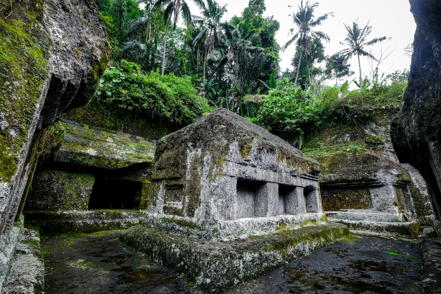 Temple complexes at Gunung Kawi in Bali