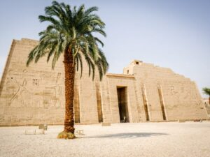 Medinet Habu Temple in Egypt