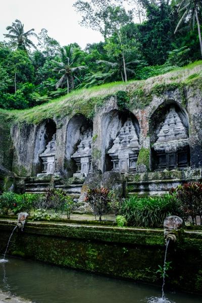 Shrines at Gunung Kawi Temple in Bali