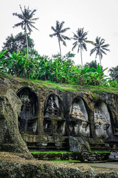 Royal tombs at Gunung Kawi Temple in Bali