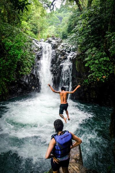 Kroya Waterfall in Bali