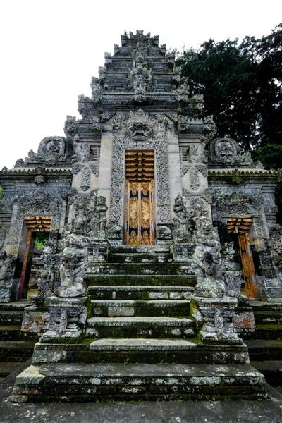 Balinese stone gate