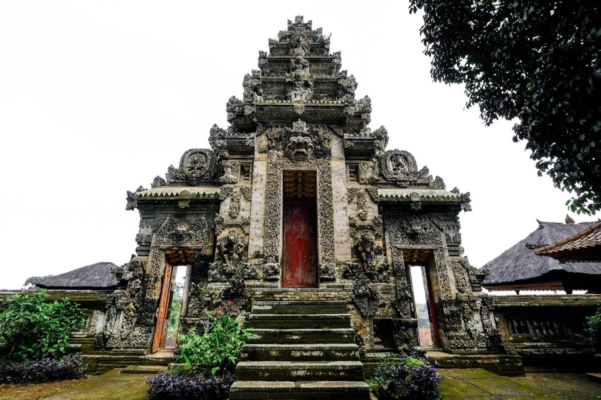 Pura Kehen Temple gate in Bangli Bali