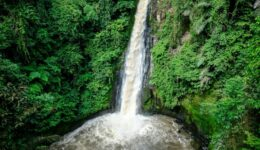 Air Terjun Desa Tincep Waterfall in Tomohon Sulawesi