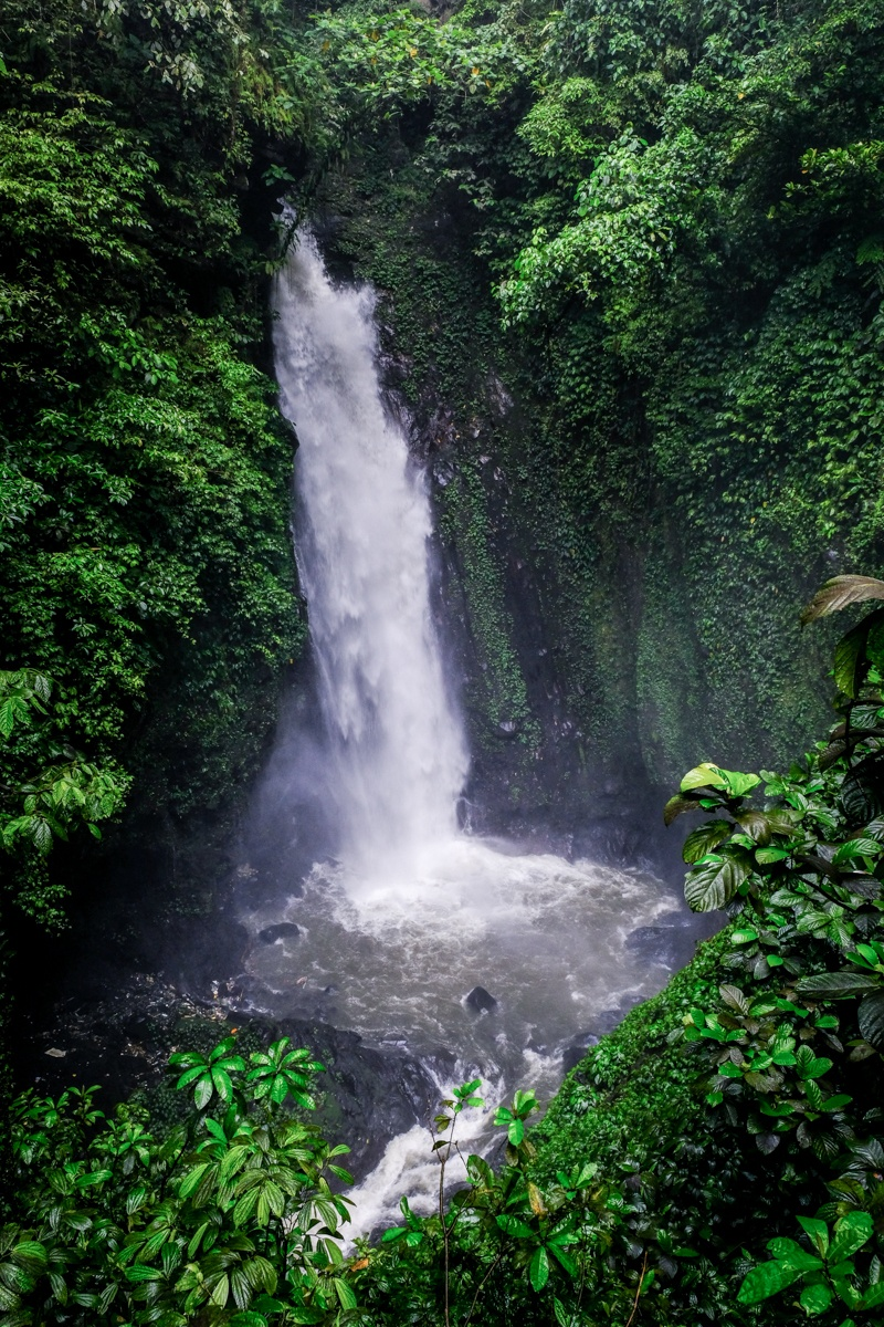 Air Terjun Kanderawatu Waterfall in Tomohon Sulawesi
