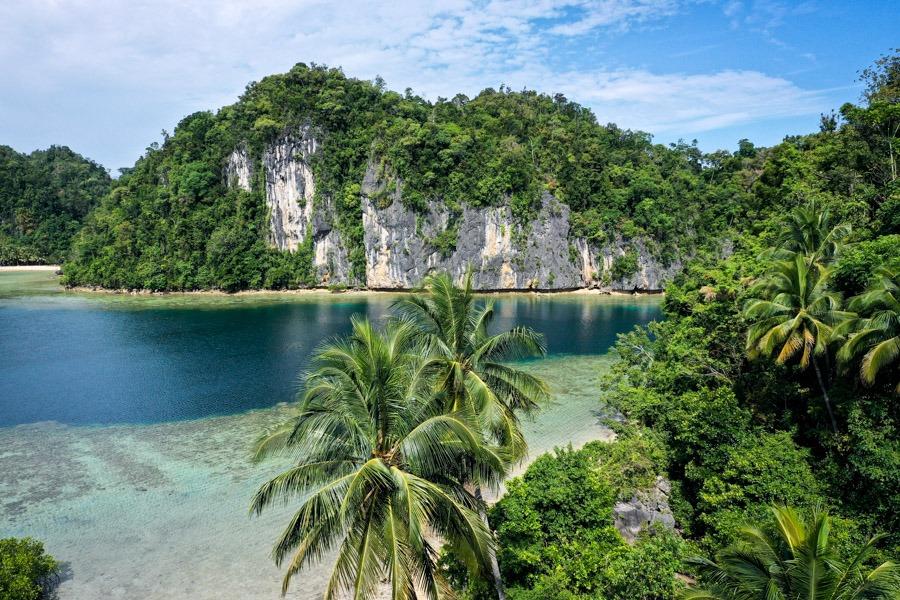 Sombori Island in Sulawesi Indonesia