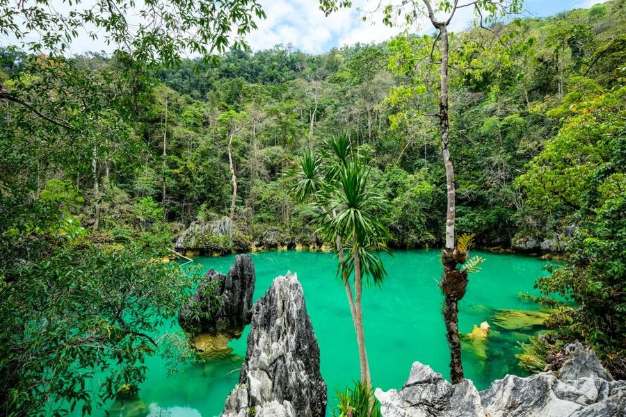 Blue Lagoon Laguna Mahumalalang in Labengki island
