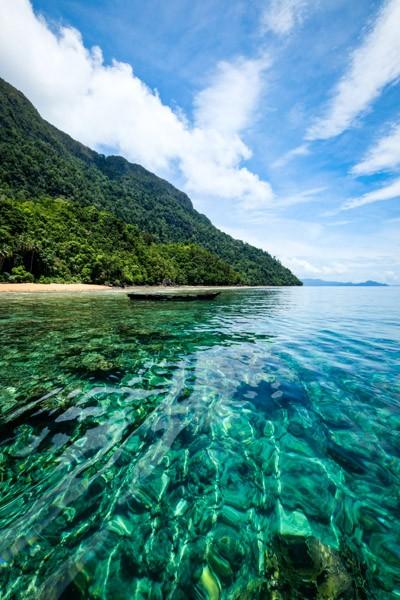 Sulawesi coastline