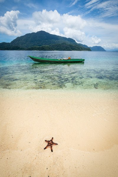Labengki Kecil beach