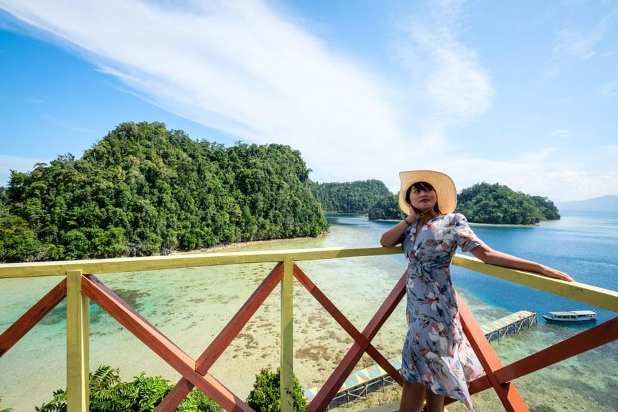 Pulau Koko viewpoint in Sulawesi