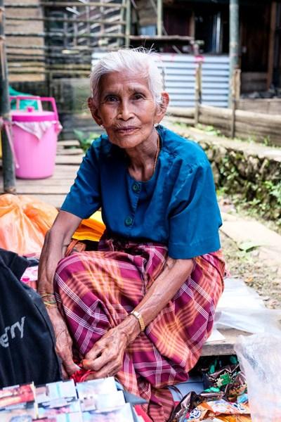 Old Toraja woman