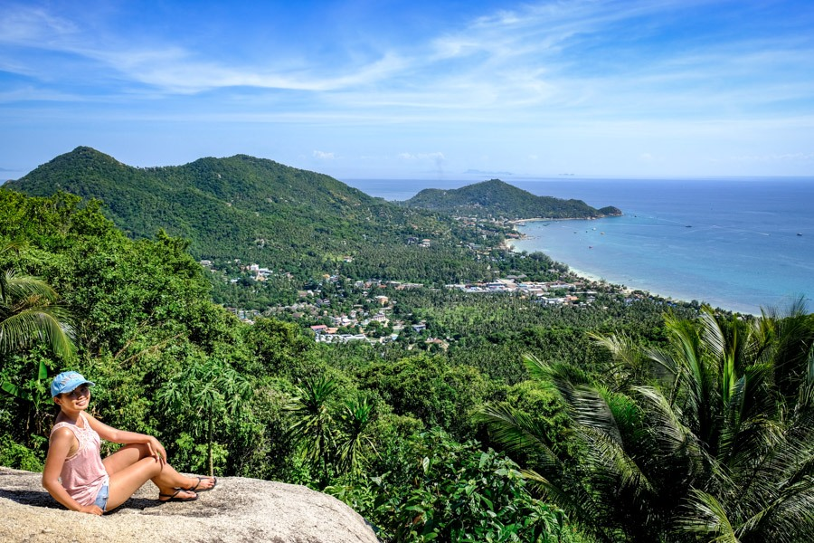 Mango viewpoint in Koh Tao