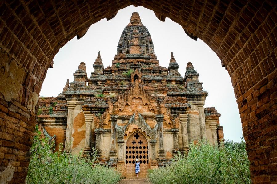 Ancient temple in Bagan Myanmar