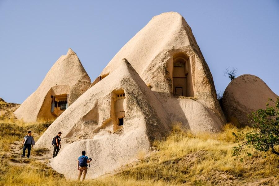 Cappadocia Turkey houses