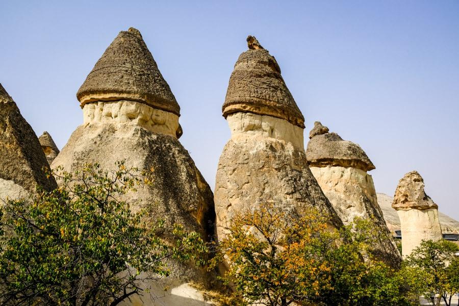 Monks Valley Pasabag in Cappadocia Turkey