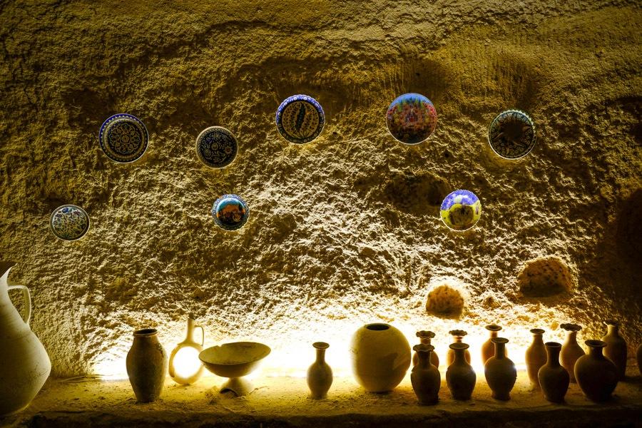 Avanos pottery in Turkey