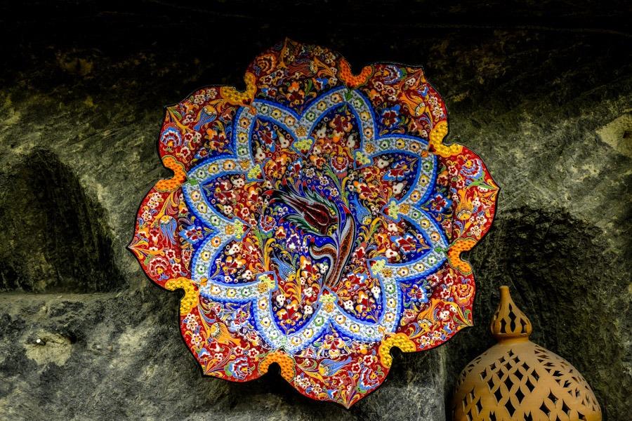 A fancy plate in Avanos Turkey
