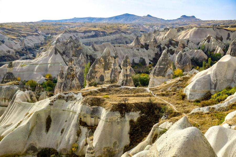 Pigeon Valley in Cappadocia Turkey