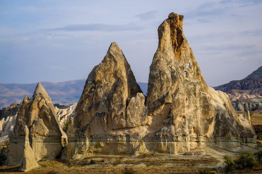 Goreme Valley in Cappadocia Turkey