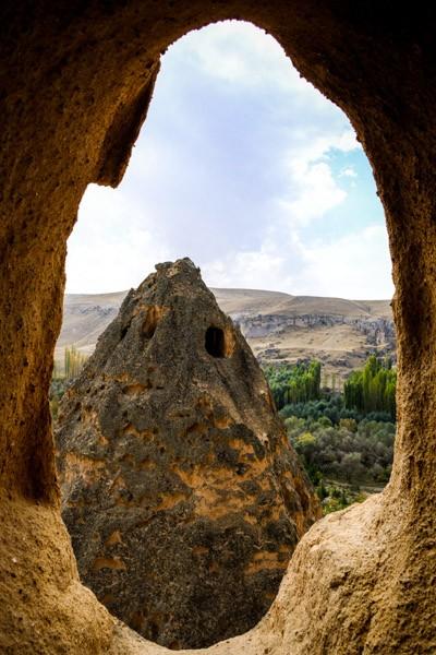 Selime Monastery window