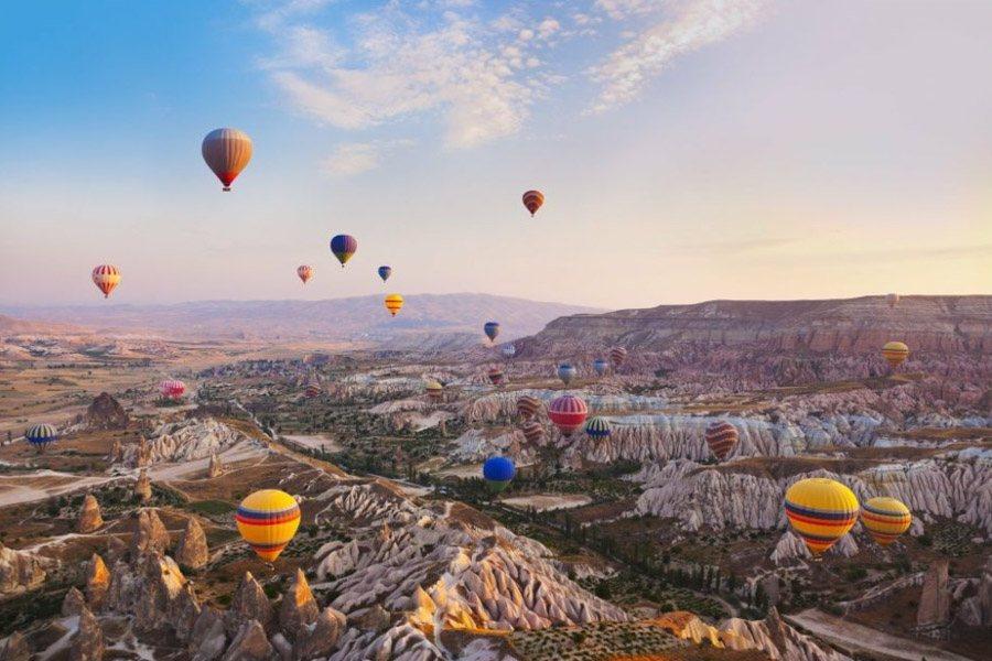 Cappadocia Turkey Hot Air Balloon Rides