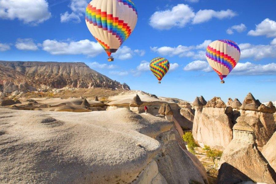 Cappadocia Turkey Hot Air Balloon