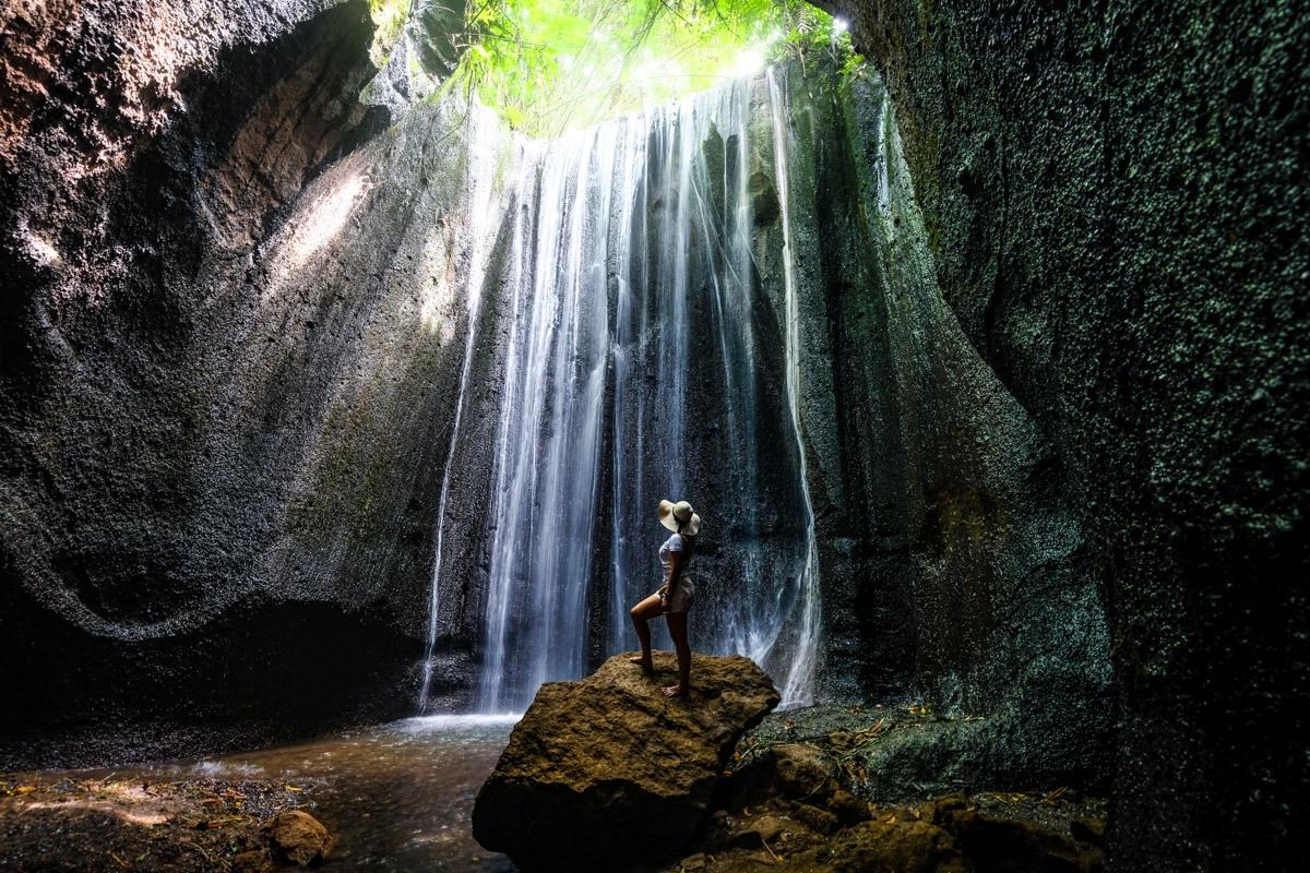 Tukad Cepung Waterfall in Bali