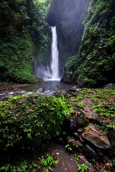 Colek Pamor Waterfall in Bali