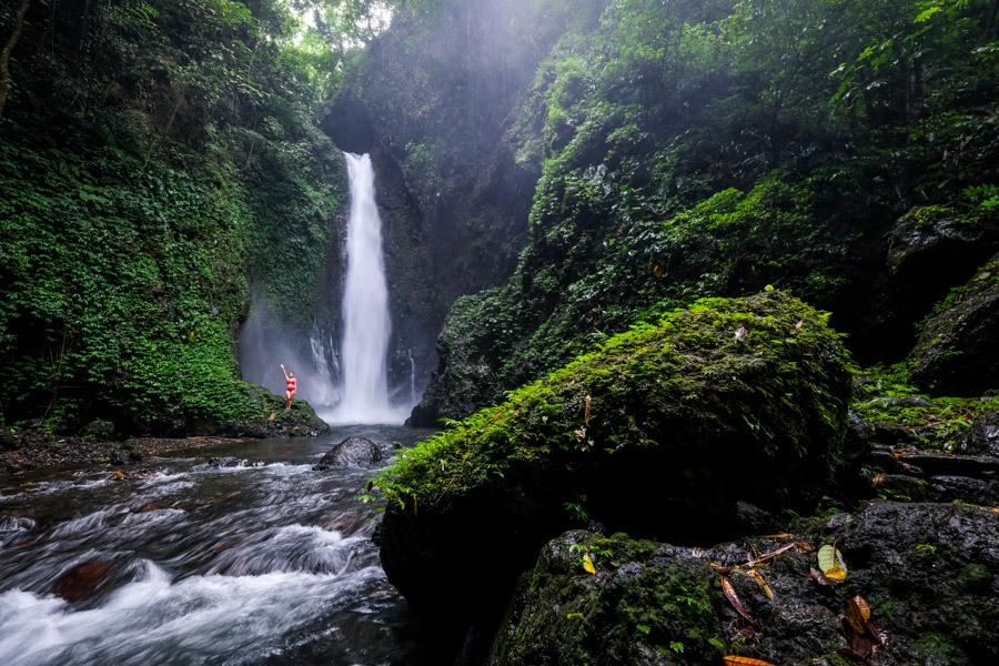 Colek Pamor Waterfall in Buleleng Bali