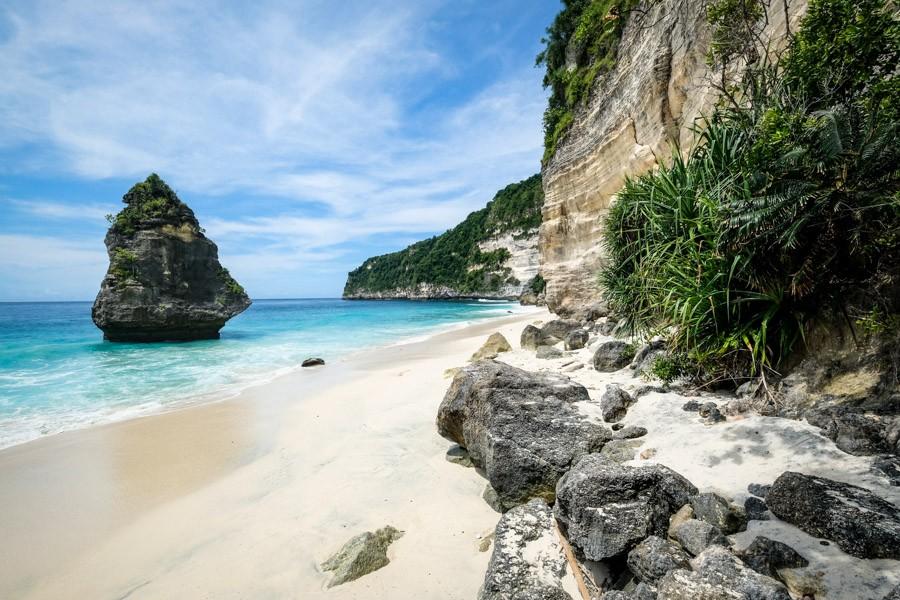 Suwehan Beach Nusa Penida Island Bali