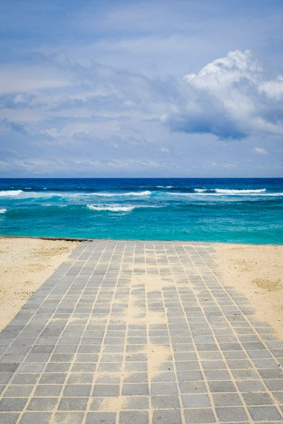 Melasti Beach In Uluwatu Bali