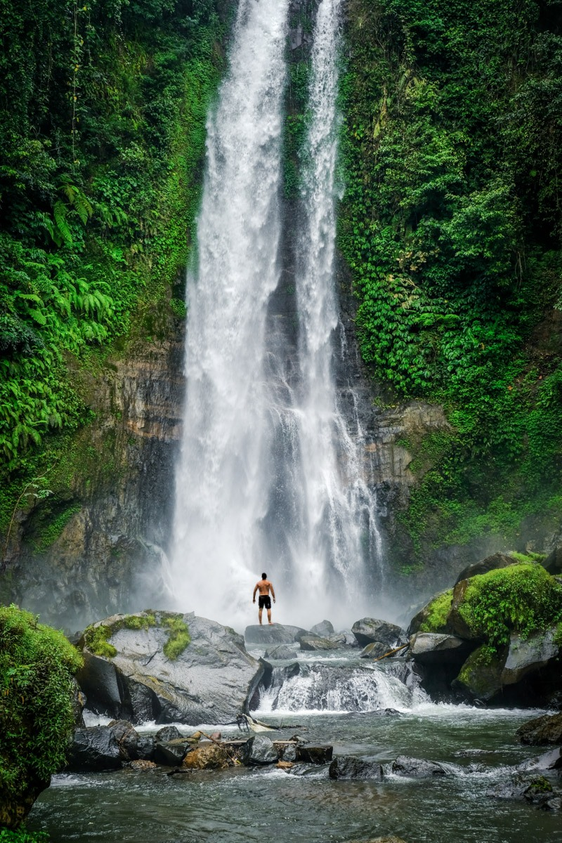 GitGit Waterfall In Bali
