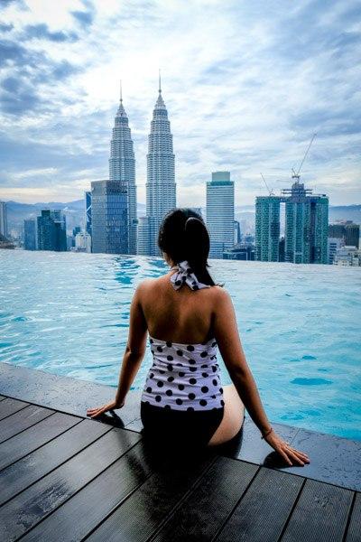 Kuala Lumpur Malaysia KL Rooftop Pool