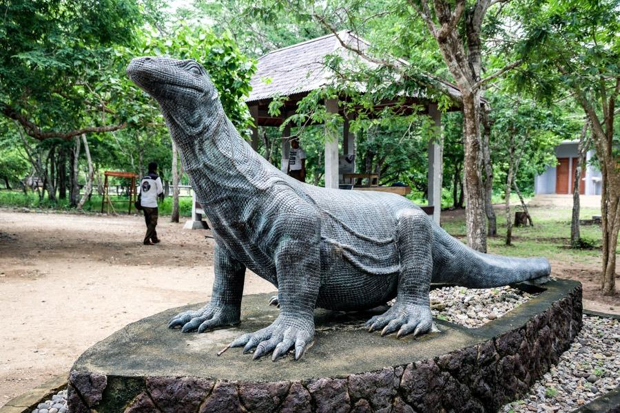 Komodo statue park