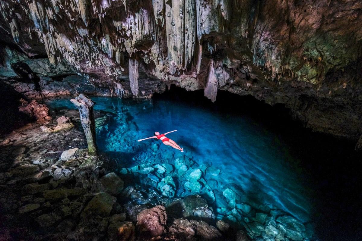 Goa Rangko Cave in Labuan Bajo Flores Indonesia