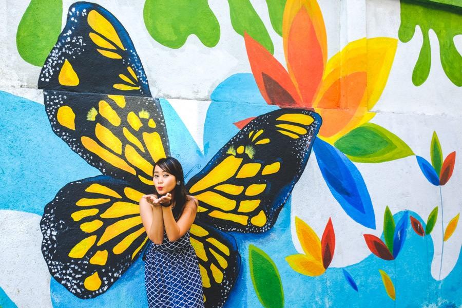 Jalan Alor KL Street Art In Kuala Lumpur Malaysia