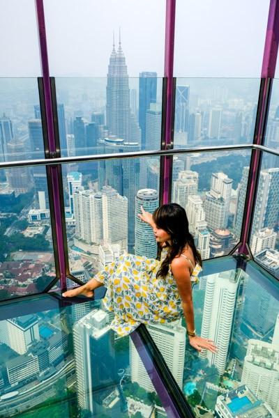 KL Tower Glass Observation Deck