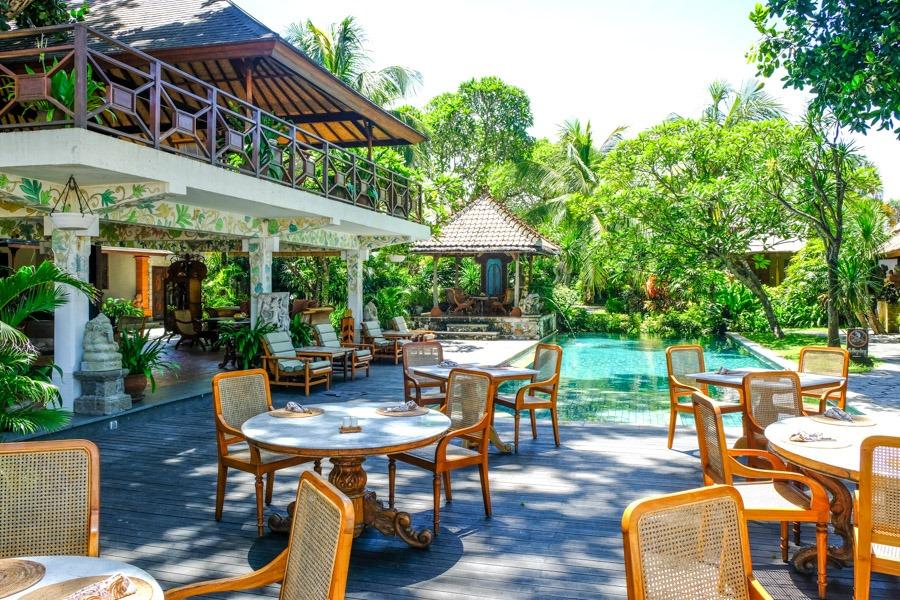 Sanur beach restaurant