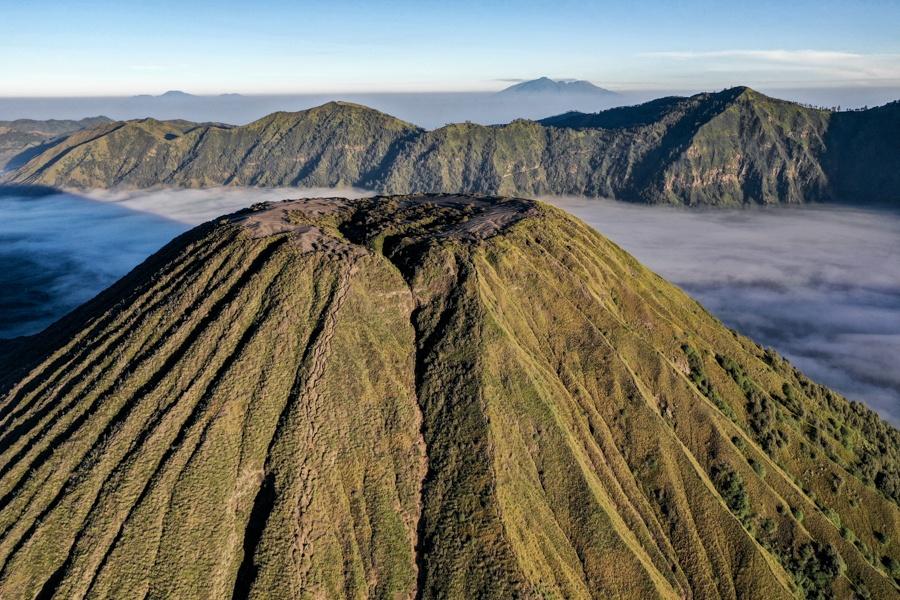 Mount Batok Drone