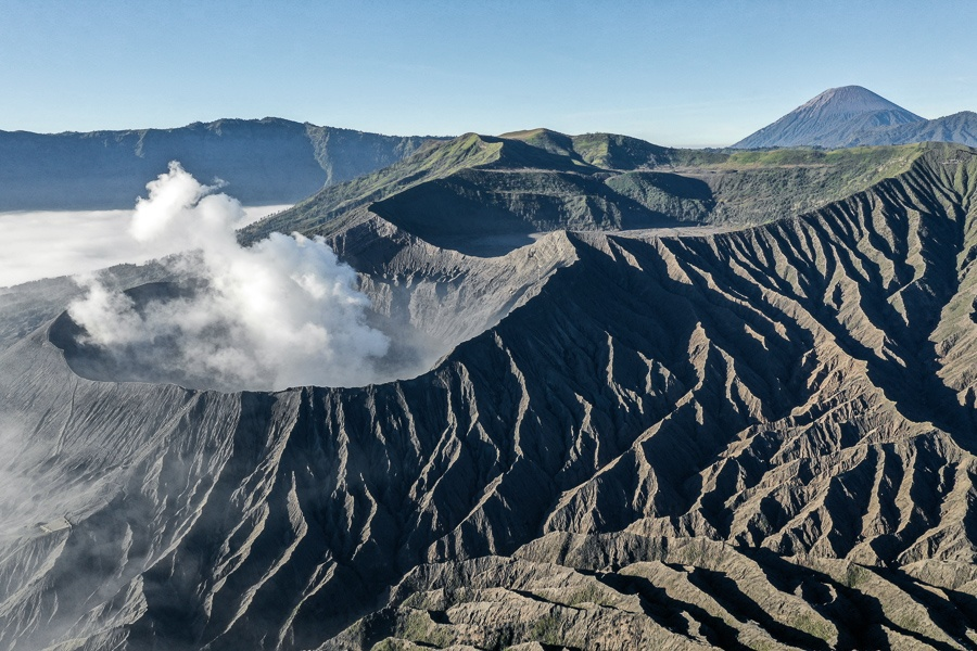 Mount Bromo Sunrise East Java Indonesia Volcano Crater Tour