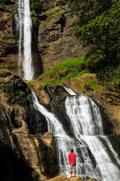 Curug Cikanteh Waterfall in West Java