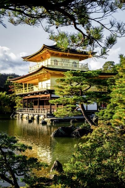 Japanese Temple Kinkakuji